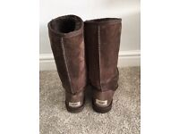 Ugg Boots classic tall chocolate brown UK size 5