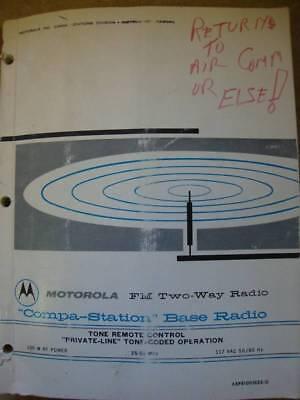 Motorola Compa-station Base Radio Tone Remote Pvt 64