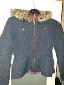 Girls reversible river island jacket age 10 years