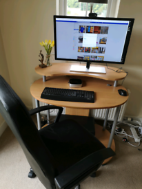"""4K 28"""" monitor with Vorke V5 mini pc for sale  Bury St Edmunds, Suffolk"""