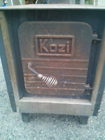 Kozi wood stove ULC approved