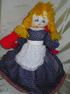 TOPSY-TURVY Little Red Riding hood doll