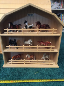 Breyer Stablemates Horses and Display