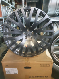 "Alloy wheels 22"" fits mercedes ml gl gle gla"