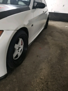 Bmw 18 inch rims with new tires ZETA