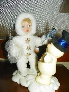 Beneath the Mistletoe Porcelain doll
