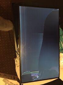 """42"""" Bush 3D Smart TV SPARES OR REPAIRS"""