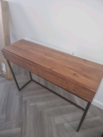 Console table for sale solid wood