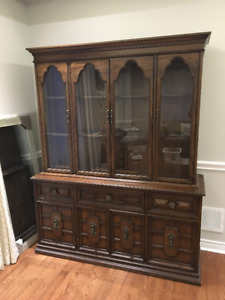 Gibbard Dining Room Hutch and Buffet