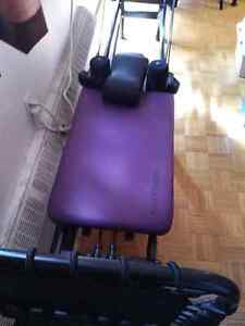 Aero Pilates 4 cord with stand and rebounder