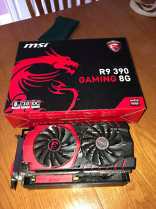 MSI R9 390 8GB - EXCELLENT CONDITION