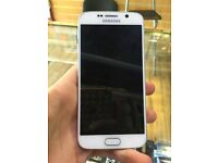 SAMSUNG GALAXY S6 WHITE 32GB UNLOCKED GOOD CONDITION