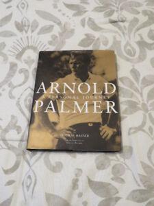"""ARNOLD PALMER """"A Personal Journey"""" hardcover"""