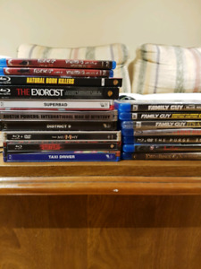 Blu ray steel bookd collectors editions etc sale or trade