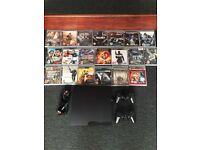 PS3 and 20 games