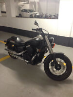 Matte Black Honda Shadow