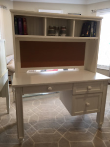 Pottery Barn Kids Catalina Desk and Hutch.