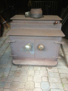 Wood Stove  For Sale. Large Capacity with Blower