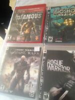 BRAND NEW NEVER OPENED PS3 GAMES