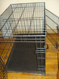 Petco Large Wire Pet Cage With Divider