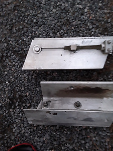"""6"""" aluminum offset for outboard motor"""