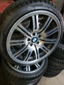 "BMW m3 19"" wheels with brand new super tires"