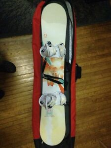Women's Board, Boots and Bindings with Bag