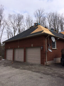 Roof problems?  Call us 6479203366