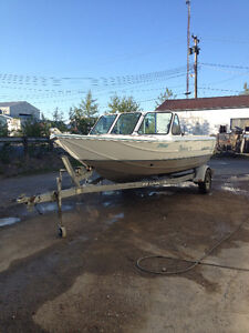 Ready for The water, Nahanni 175,  100 Hp Yamaha 4 stroke