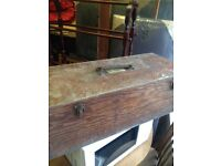 Vintage Wood Box Electrolux c1926 Regent Street Address