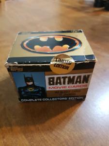 Batman 1989 movie collector cards