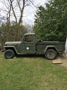 1947 willys pickup truck