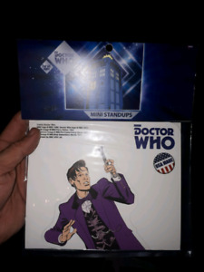 DOCTOR WHO 11TH Doctor mini standee