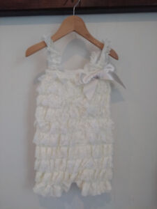 Baby lace rompers NEW