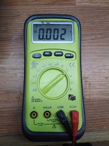 TPI 153 True RMS Digital Multimeter
