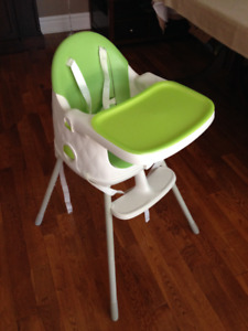 Keter - 3 in 1 convertible high chair - Excellent condition