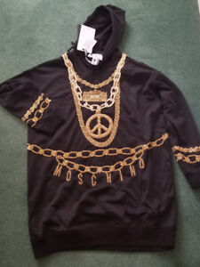SOLD OUT LIMITED EDITION H&M MOSCHINO Hooded Dress MEDIUM
