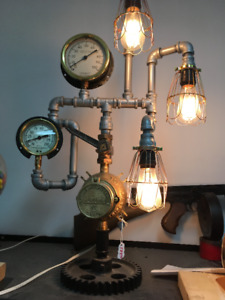 Lamp-Steampunk Design