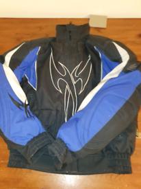 Hein gericke textile motorcycle jacket used.