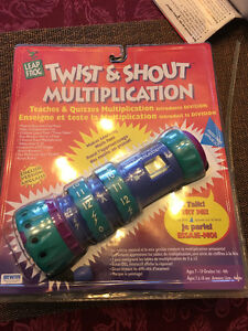 Twist and Shout Multiplication by LeapFrog