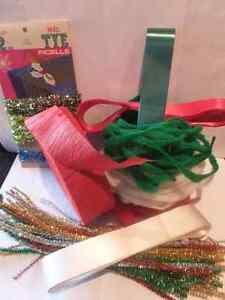 RIBBON CREPE , TINSEL , CHENILLE TRIM, EASTER / CHRISTMAS London Ontario image 1
