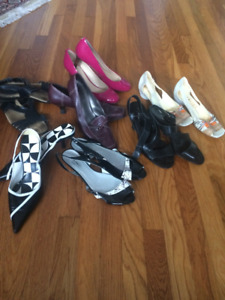 Size 9.5-10 Brand Name Shoes - 7 pairs for $30