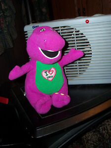 Vintage ..singing i love you... BARNEY