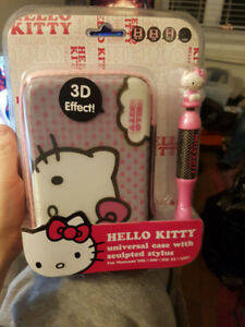 Hello Kitty universal case with sculpted stylus