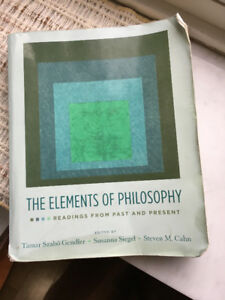 The Elements of Philosophy: Readings from Past and Present
