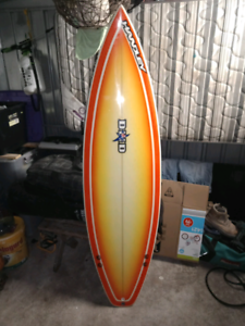 DHD Surfboard signed by steph gilmore