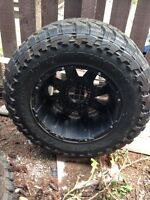 20 inch rims and 38 inch tires
