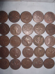 Selling My Canadian One Cent Coin Collection