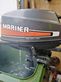 8 hp outboard engine