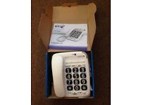 Almost new bt 200 big button corded phone